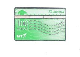 Phonecard BT 100 Units - Phonecards