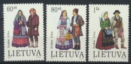 Litauen 537/39 ** Postfrisch - Litauen