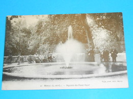 47 ) Nérac - N° 12 - Square Du Pont Neuf  : Année 1924 : EDIT - Tuja - Nerac