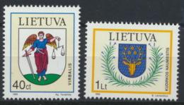 Litauen 591/92 ** Postfrisch - Litauen