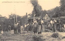 Saint-Just-en-Chevalet - Scène Champêtre - Le Battage à La Machine - Batteuse - Cecodi N'879 - France