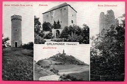 Orlamünde - Multivues - Kaiser Wilhelm Turm - Kemnate - Ruine Schauenforst - Leuchtenburg - LÖFFLER & Co - Allemagne