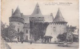 24 Dordogne - Château De MARZAC - Bords De La Vezère - Vue De La Grande Façade - France