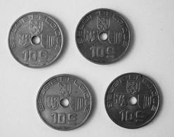 Belgie Belgique 10 Centimes 1939 Jespers 4 Pièces. - 1934-1945: Leopold III
