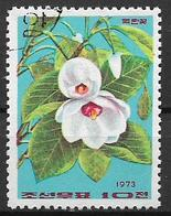 COREA DEL NORD 1974 FIORI DI MAGNOLIA YVERT. 1151 USATO VF - Corea Del Nord