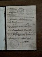 HUWELIJK BOEKJE  1906   DIKKELVENNE - Mariage