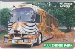 JAPAN - FREECARDS-4106 - LIONS - Japon