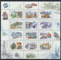 Russland 863/74 Kleinbogen ** Postfrisch - 1992-.... Föderation