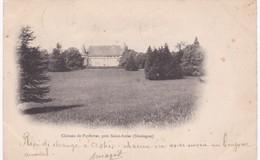 24 Dordogne - Château De Puyferrat Près Saint-Astier - Dos Simple 1903 - France
