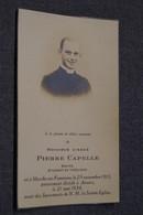 Curé,l'abbé Pierre Capelle (Diacre) Né à Marche-en-Famenne 1913,décédé à Anvers 1938 - Obituary Notices