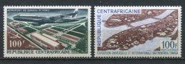 10593 REPUBLIQUE CENTRAFRICAINE PA 47,48 ** Aéroport De Bangui Et Expo. Internationale De Montréal   1967  TTB - Zentralafrik. Republik
