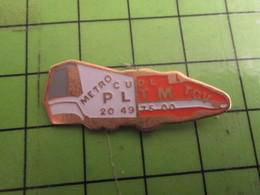 1518B Pins Pin's / Rare & Belle Qualité THEME TGV / METRO + TGV PLTM CUDL  !!!! CQFD ......... - TGV