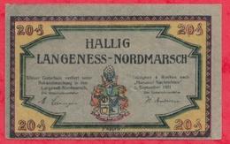 Allemagne 1 Notgeld De 20 Pfenning Stadt Halling  Dans L 'état  N °2723 - [ 3] 1918-1933 : République De Weimar