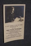 Curé,l'abbé François Questiaux,né à Focant En 1900,arrêté Par La Gestapo 1943,décédé Au Camp De Dachau Noël 1944 - Décès