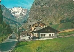 COURMAYEUR - VIA DEI BAGNI - HOTEL DEI CAMOSCI - VIAGGIATA 1965 - (rif. D39) - Italia
