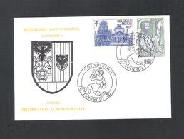 "TURNHOUT - BIJZONDERE DATUMSTEMPEL ANTWERPEN - ""DE VOLKSWIL""   -  DD. 6 - 5 - 1967 - OMSLAG (D 074) - Cartes Souvenir"