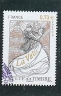 FRANCE 2017 FETE DU TIMBRE LA VALSE OBLITERE YT 5130 - France