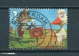 2018 Netherlands Kinderzegel,child Welfare,Fabeltjeskrant Used/gebruikt/oblitere - Periode 2013-... (Willem-Alexander)