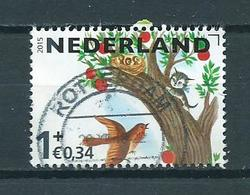 2015 Netherlands Kinderzegel,child Welfare Used/gebruikt/oblitere - Periode 2013-... (Willem-Alexander)