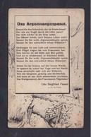 Guerre 14-18 Das Argonnengespent ( Poeme De Udo Siegfried Fessel Dessin W. Bölk Bataille D' Argonne Ed. Max Strebe   ) - Weltkrieg 1914-18