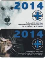 E.N.P.A. 2014 2 Cards - Altre Collezioni