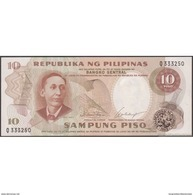 TWN - PHILIPPINES 144a - 10 Piso 1969 Prefix Q UNC - Philippines