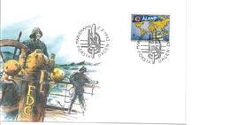 ALAND 1992 - FDC CONGRESSO ASS.INTERNAZIONALE CAPO HORN - Aland