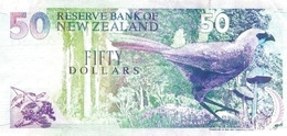 NEW ZEALAND P. 180a 50 D 1992 UNC - New Zealand