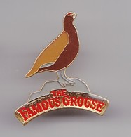 Pin's Whisky The Famous Grouse Perdrix  Réf 8082 - Dranken