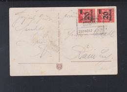Dt. Reich PK Die Harmonika 1922 Bahnpost - Deutschland