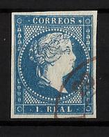 ESPAÑA Nº 49 En Usado. - 1850-68 Reino: Isabel II