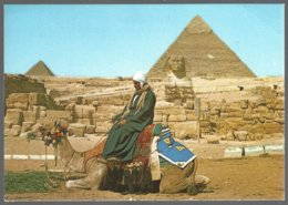 CP GIZA ,The Great Sphinx And The Pyramids Of Kephren And Mikerinos - Sphinx