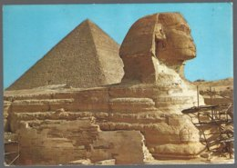 CP GIZA , The Great Sphynx And Keops Pyramid - Sphinx