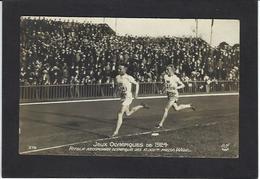 CPA Jeux Olympiques Paris 1924 Série AN 379 Course à Pied Circulé - Giochi Olimpici