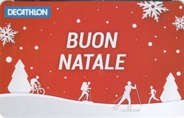 Gift Card Italy Decathlon Buon Natale - Gift Cards