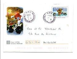 OBLITERATION CLERMONT FERRAND ANNEXE 1 2008 - Marcophilie (Lettres)