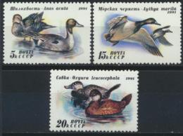 Sowjetunion 6210/12 ** Postfrisch Enten - 1923-1991 UdSSR