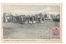 MERSINA - Troupes Françaises Et Anglaises Défilant Devant L'Amiral Sagot Du Vauroux - Timbre Rare Surchargé - L 1 - Turquie