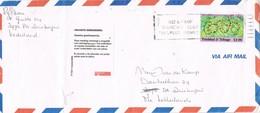 31034. Carta Aerea PORT SPAIN (Trinidad Y Tobago) 1987. Label Insuficient Adresse - Trinidad Y Tobago (1962-...)