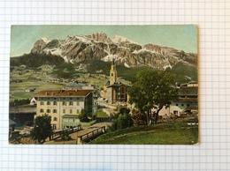 #postkaart, Italie Tofana,verzonden In Rio De Janeiro Gelopen 1906, Zegel 100 Reis - Italia