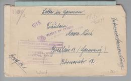 Südafrika 1944-08-12 Interniertensendung Doppelzensur Nach Breslau - Lettres & Documents