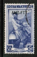 TRIEST   Scott # 10 VF USED (Stamp Scan # 439) - 7. Trieste
