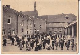 Cpsm-geer- Orphelinat Saint Joseph - La Cour Des Recreations Tres Animé - Geer