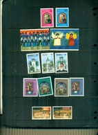 NAURU NOEL 74-75-76-77-87 15 VAL NEUFS A PARTIR DE 1 EURO - Nauru