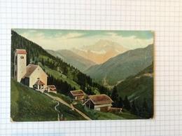 #postkaart, Italie, Civetta Verzonden In Bilbao Spanje Gelopen 1906, Zegel 5 Cent - Italia
