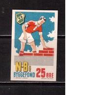 Denmark,  Vignette,  Poster Stamp, Football, Soccer, Fussball,calcio - Calcio