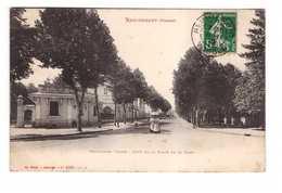 88 Remiremont Boulevard Thiers Coté De La Place De La Gare + Timbre Taxe Cachet 1912 - Remiremont