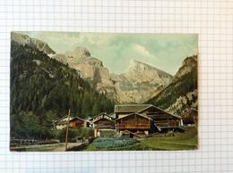 #postkaart, Italie, Fassathal Verzonden In Bilbao Spanje Gelopen 1906, Zegel 5 Cent - Italia
