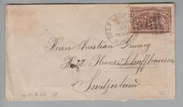USA 1894-03-28 Deer Lodge City Brief Mit EF Mi#77 - 1847-99 Emissions Générales