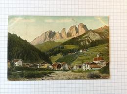 #postkaart, Italie, Langkofelgruppe Verzonden In Bilbao Spanje Gelopen 1906, Zegel 5 Cent - Italia